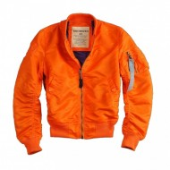 Alpha Industries - Ladies MA-1 VF LW Wmn Bomberjacke orange (Ausverkauft)