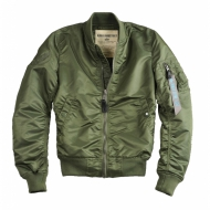 Alpha Industries - Ladies MA-1 VF LW Wmn Bomberjacke sage-green (In K�rze wieder in weiteren Gr��en erh�ltlich)