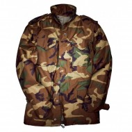 Alpha Industries - M-65 Feldjacke woodland camo