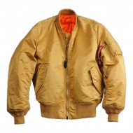 Alpha Industries - MA-1 Bomberjacke Gold