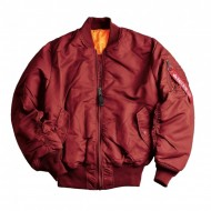 Alpha Industries - MA-1 Bomberjacke burgundy