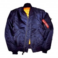 Alpha Industries MA-1 Bomberjacke rep.blue