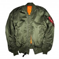 Alpha Industries MA-1 Bomberjacke sage green
