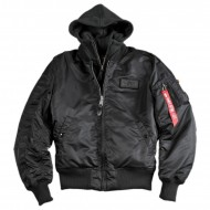 Alpha Industries MA-1 D-Tec SE Jacke black/black