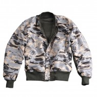 Alpha Industries MA-1 Reversible Camo Jacke rep. grey