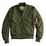 Alpha Industries - MA-1 TT Bomberjacke dark green