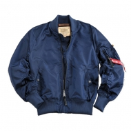Alpha Industries - MA-1 TT Bomberjacke rep. blue