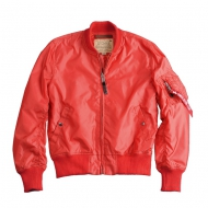 Alpha Industries - MA-1 TT Bomberjacke spicy red (In K�rze wieder in weiteren Gr��en erh�ltlich)