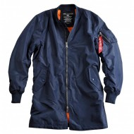 Alpha Industries - MA-1 TT Coat Fliegermantel rep.blue