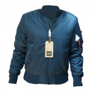 Alpha Industries MA-1 VF 59 Bomberjacke bold blue