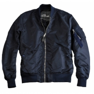 Alpha Industries - MA-1 VF LW Bomberjacke rep.blue/chrome (In K�rze in allen Gr��en wieder erh�ltlich)