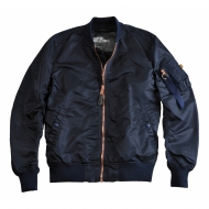 Alpha Industries - MA-1 VF LW Bomberjacke rep.blue/copper (In K�rze in allen Gr��en wieder erh�ltlich)
