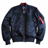 Alpha Industries - MA-1 VF Rev II (Wende-)Bomberjacke rep.blue