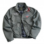 Alpha Industries Mechanic II Jacke gunmetal