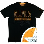 Alpha Industries Military Star Shirt schwarz