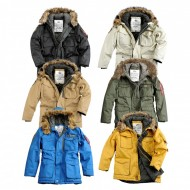 Alpha Industries Mountain Wintermantel (verschiedene Farben)