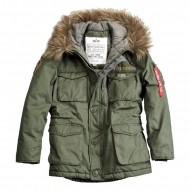 Alpha Industries - Mountain Winterparka dark green