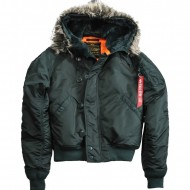 Alpha Industries - N2B VF 59 Winterjacke dark petrol