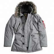 Alpha Industries - N3B VF Winterjacke reflective silver