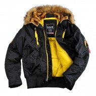 Alpha Industries - PPS N2B Winterjacke schwarz