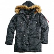 Alpha Industries - PPS N3B Winterjacke black camo