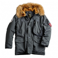 Alpha Industries Polar Winterjacke rep. grey