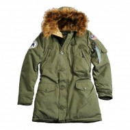 Alpha Industries Polar Jacket Woman (Dark Green)