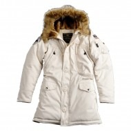 Alpha Industries Polar Jacket Woman (Off White)