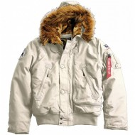 Alpha Industries - Polar SV Winterjacke off white