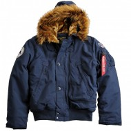 Alpha Industries - Polar SV Winterjacke rep.blue