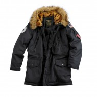 Alpha Industries Polar Winterjacke schwarz