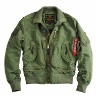 Alpha Industries - Prop Bomberjacke sage-green
