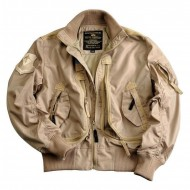 Alpha Industries Prop Jacke khaki