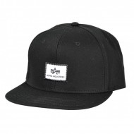 Alpha Industries Snapback Cap X-Fit black