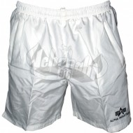 Alpha Industries Sport Swim Short weiss