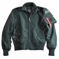 Alpha Industries - Starfighter Bomberjacke dark petrol