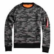 Alpha Industries Sweater X-Fit black camo