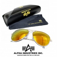 Alpha Industries Top Gun Sonnenbrille gold/gold