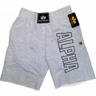 Alpha Industries - Track Short grau