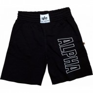 Alpha Industries - Track Short schwarz