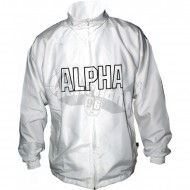 Alpha Industries Track Suit Jacket weiss (SALE)