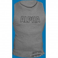 Alpha Industries Track Tank grau