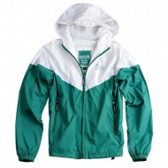 Alpha Industries Windbreaker Helix II green/white (Ausverkauft)