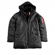 Alpha Industries Winterjacke Explorer II schwarz