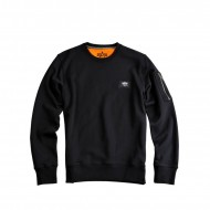 Alpha Industries - X-Fit Basic Sweater schwarz