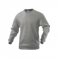 Basic Sweater grau