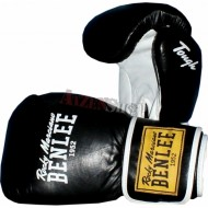Benlee Rocky Marciano Leather Thai Gloves TOUGH black