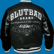 "Blutbad Brand Collegejacke ""Brooks""..."