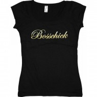 Bosshaft - Bosschick Girly T-Shirt