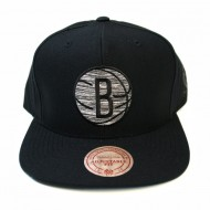 Brooklyn Nets Motionl Snapback | NBA | Mitchell & Ness